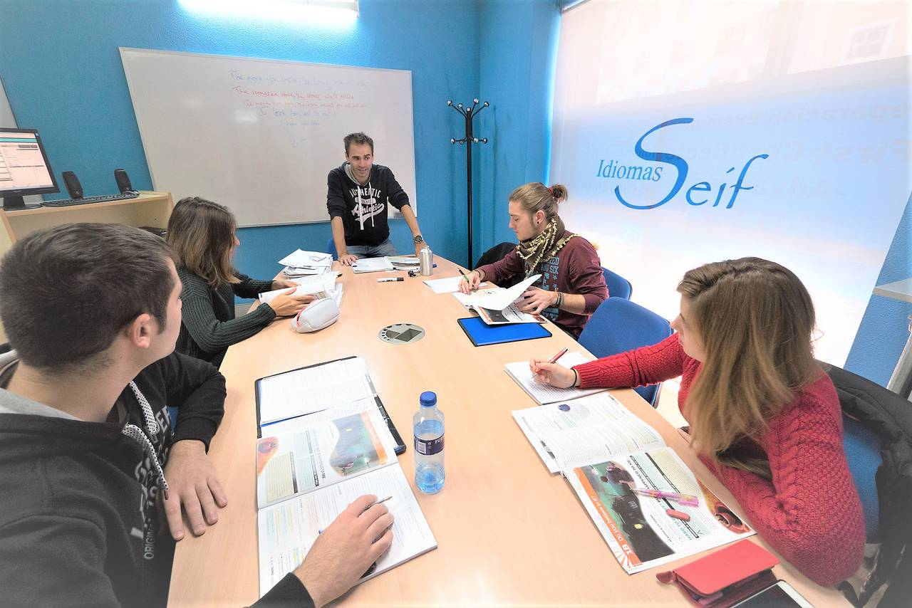 Clases de inglés intensivo en Madrid