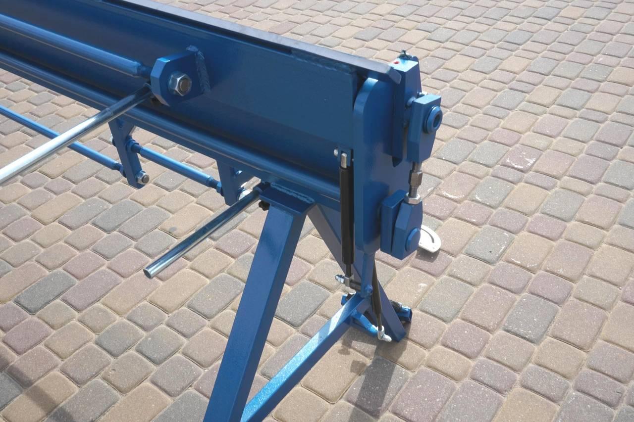 Plegadora manual, dobladora para chapa 3 metros / 1.5 aluminio  - Foto 5