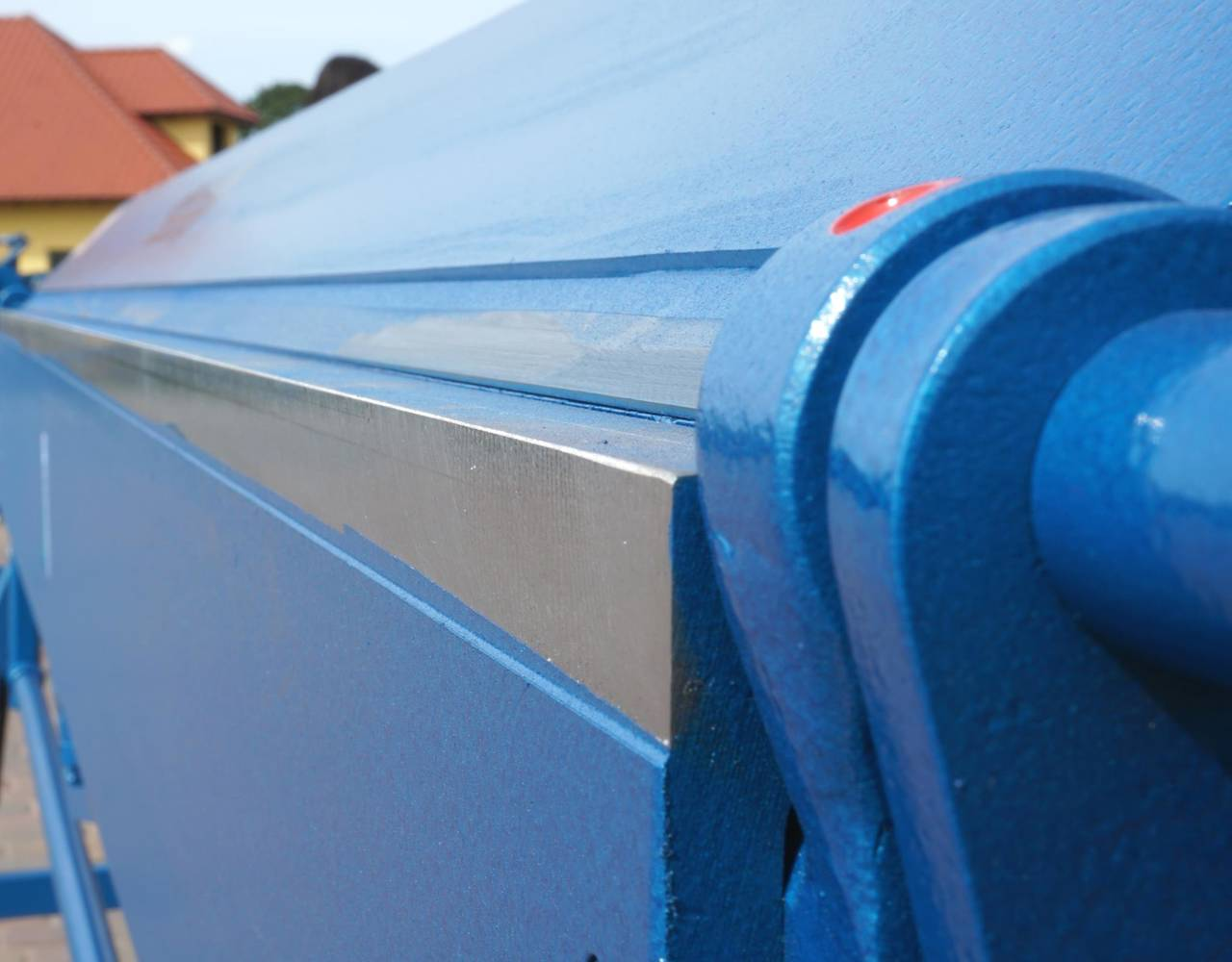 Plegadora manual, dobladora para chapa 3 metros / 1.5 aluminio  - Foto 6