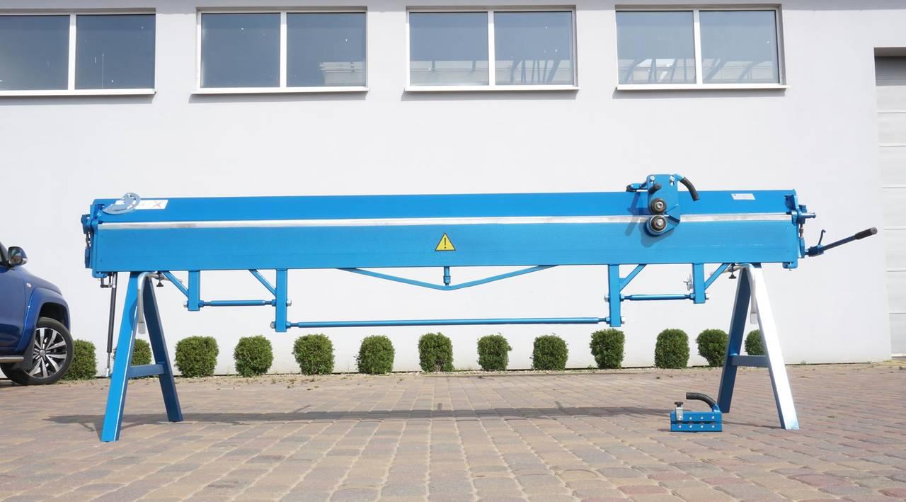 Plegadora manual, dobladora para chapa 3 metros / 1.5 aluminio  - Foto 2