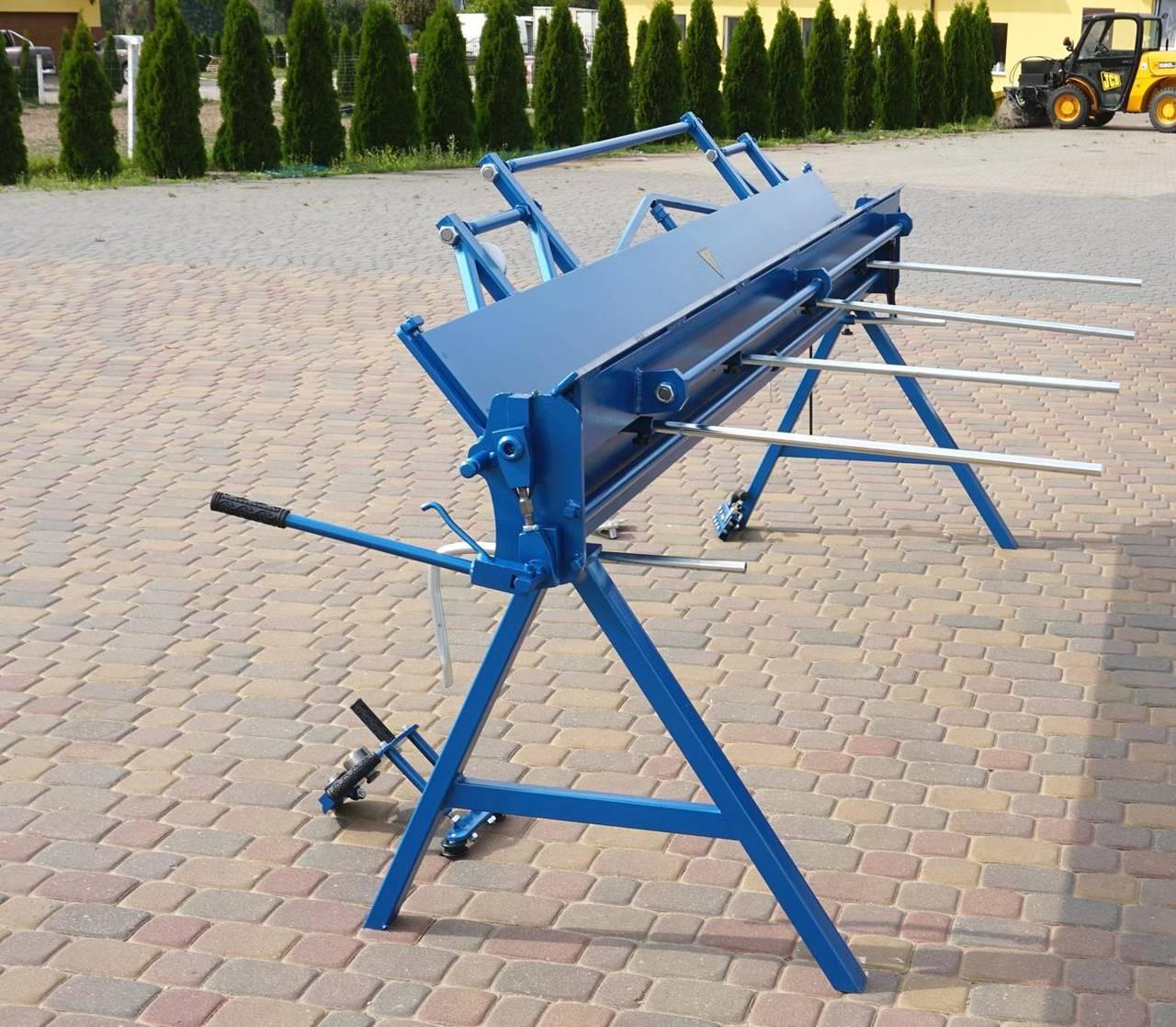 Plegadora manual, dobladora para chapa 3 metros / 1.5 aluminio  - Foto 4