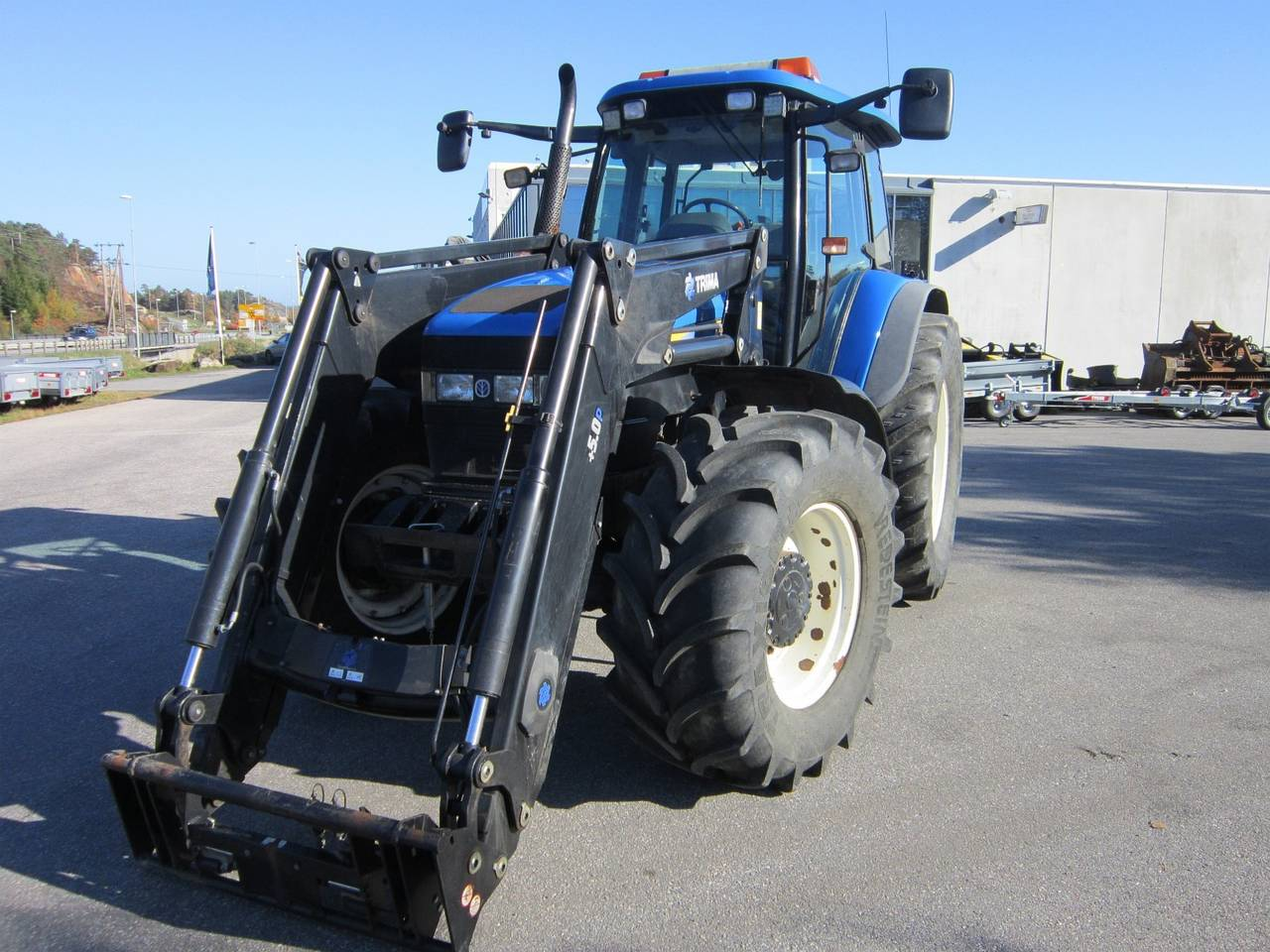 NEW HOLLAND TM 155  - Foto 2