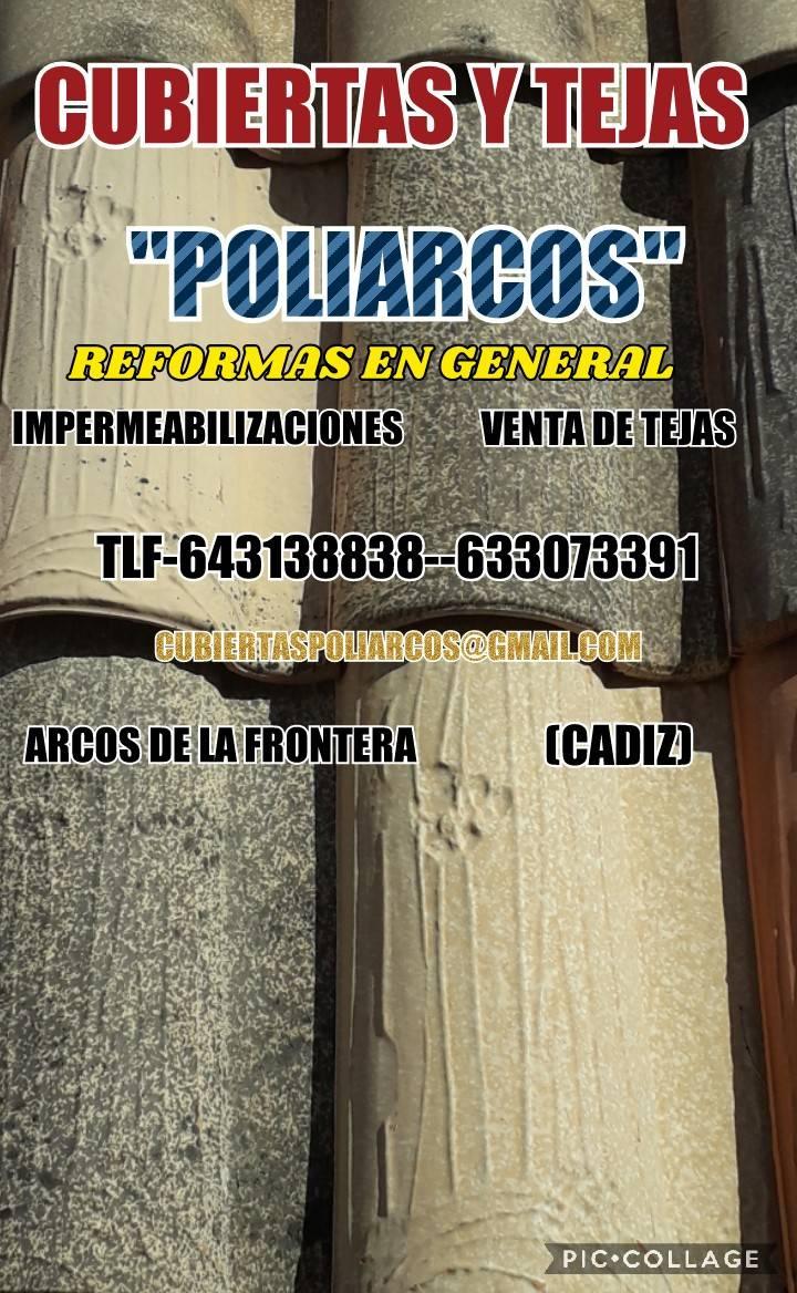 CUBIERTAS Y TEJAS E IMPERMEABILIZACIONES