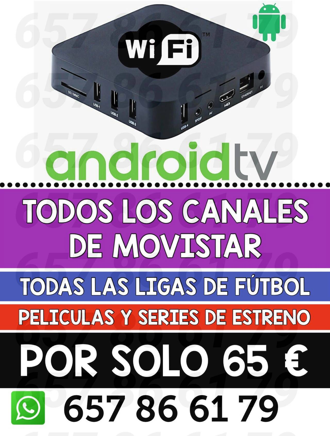 ANDROID TV + CANALES