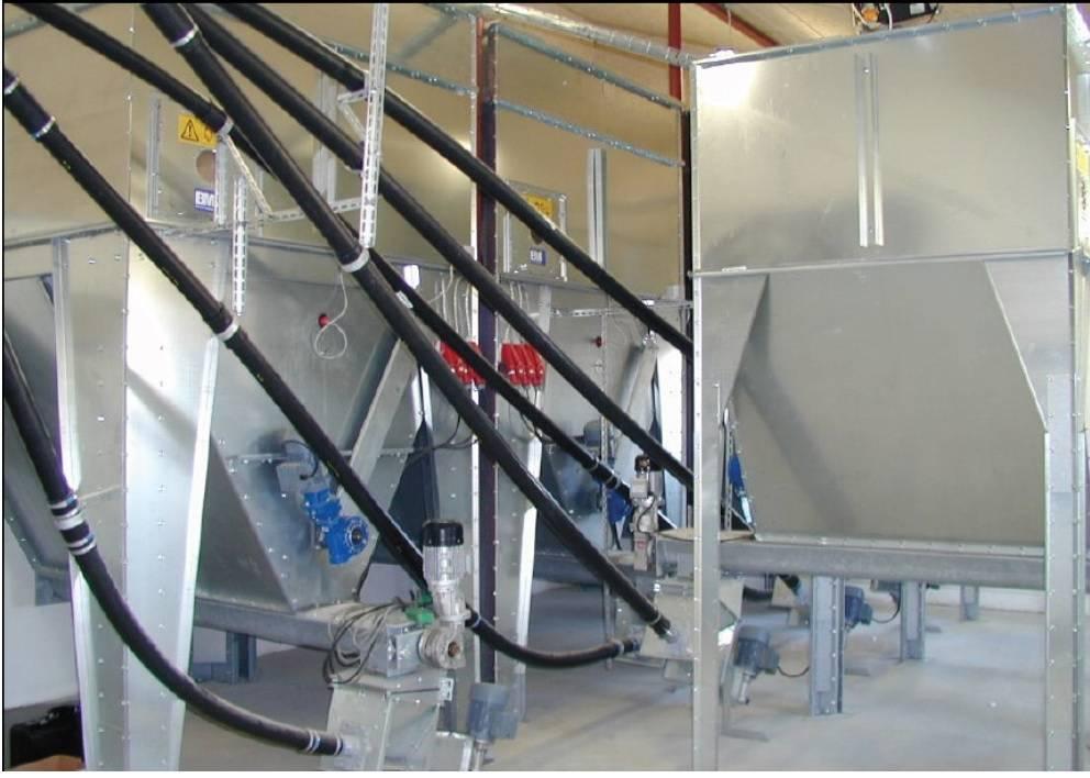 sinfines flexibles para granulados. Para industria y agro.  - Foto 2