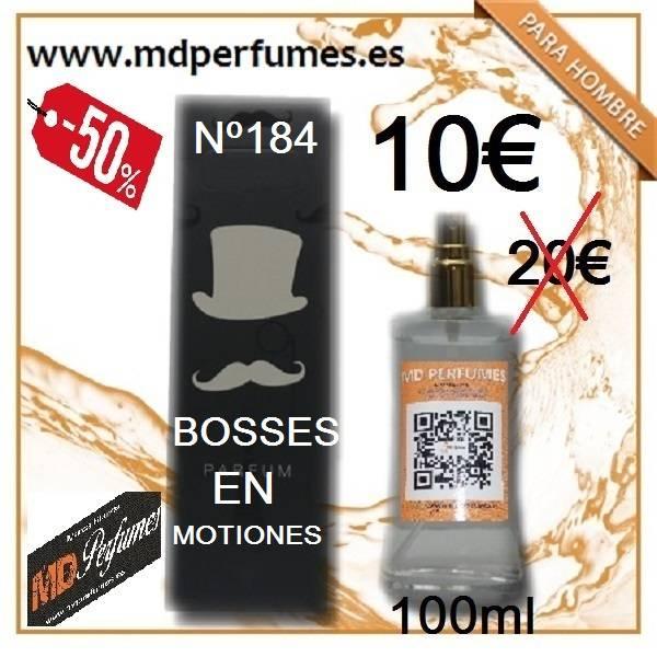 Perfume Hombre Bosses en Motiones equivalente N184  de Alta Gama 100ml  - Foto 1