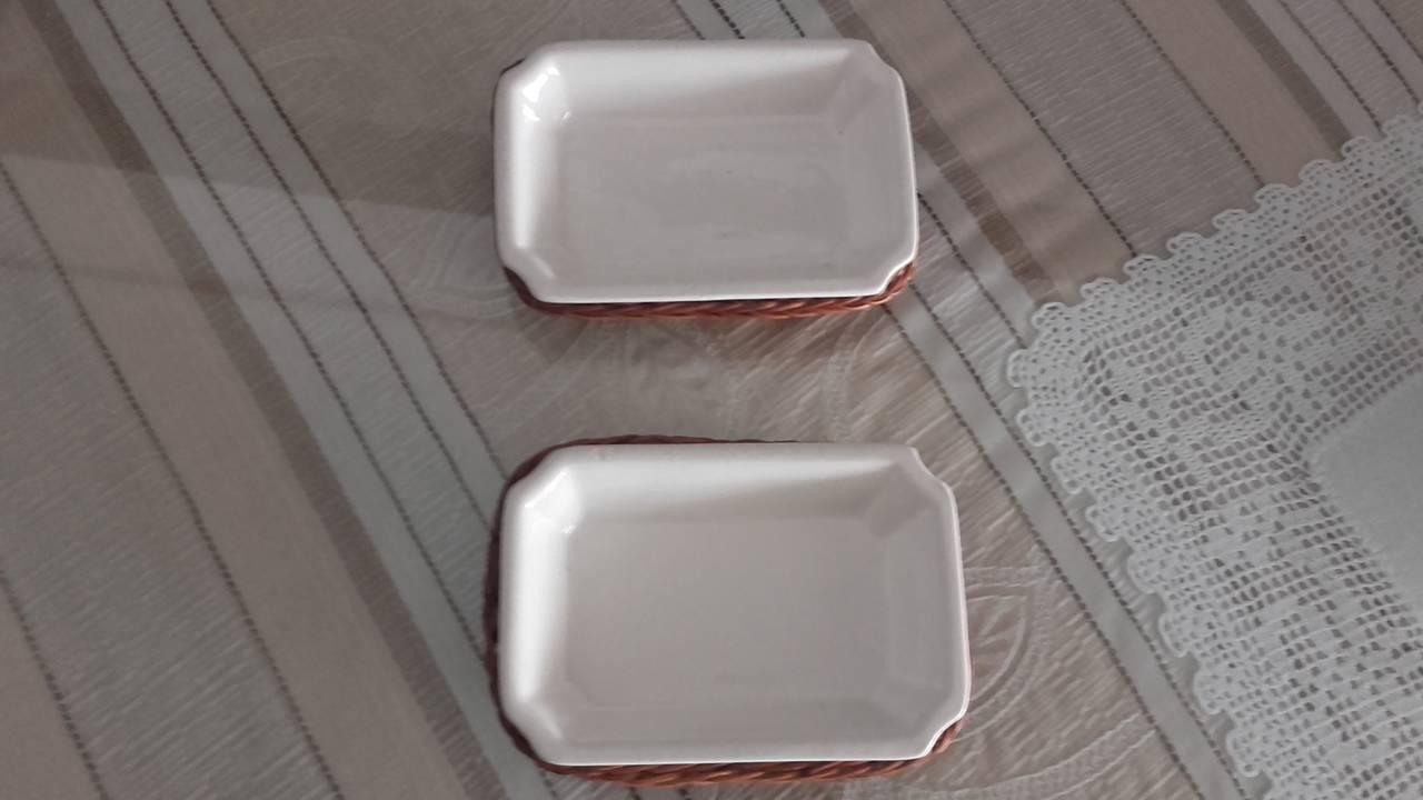 bandeja aperitivos mimbre  - Foto 1