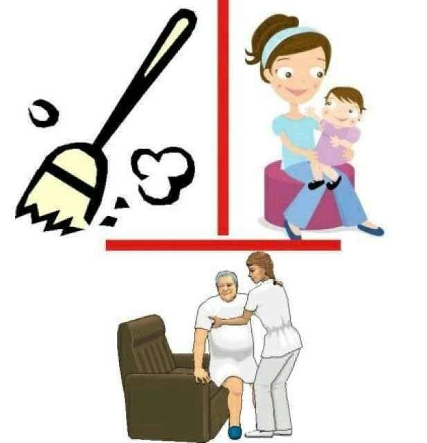 Cuidora y servicio doméstico  - Foto 1