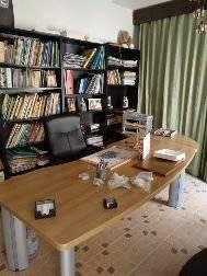 Mesa de estudio con otra mesa de ordenador  - Foto 1