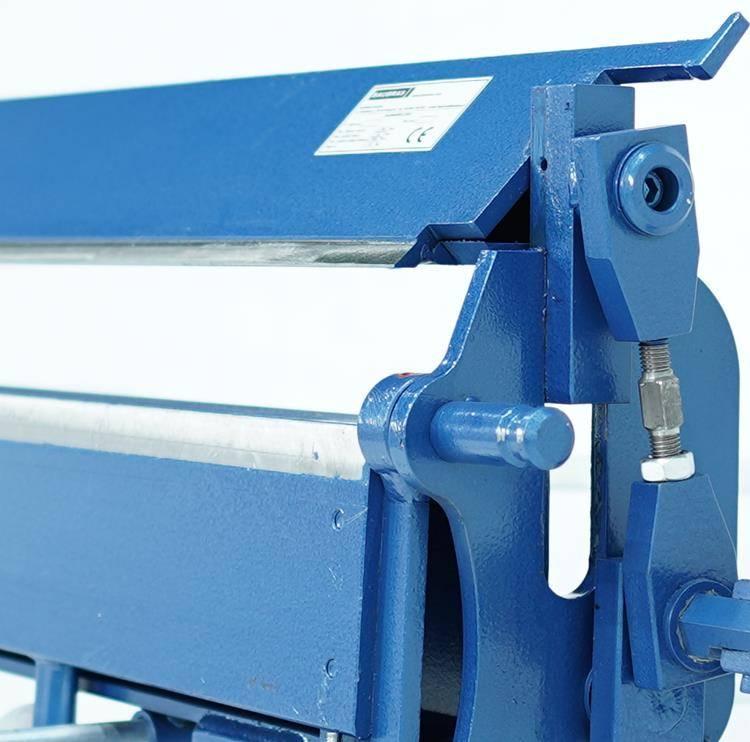 Plegadora manual para aluminio de 2 metros, DOBLADORA para CHAPAS  - Foto 6