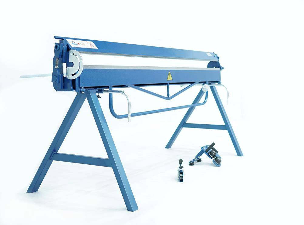 Plegadora manual para aluminio de 2 metros, DOBLADORA para CHAPAS  - Foto 2