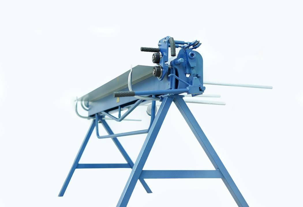 Plegadora manual para aluminio de 2 metros, DOBLADORA para CHAPAS  - Foto 1
