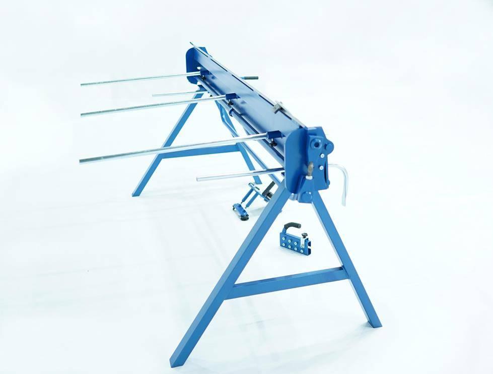 Plegadora manual para aluminio de 2 metros, DOBLADORA para CHAPAS  - Foto 7