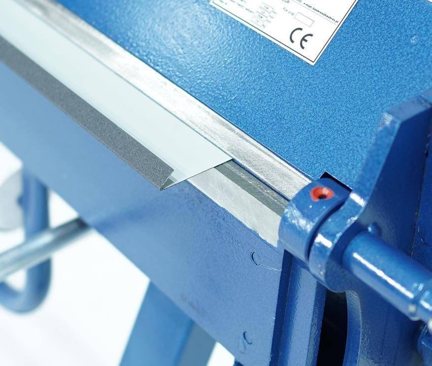 Plegadora manual para aluminio de 2 metros, DOBLADORA para CHAPAS  - Foto 5