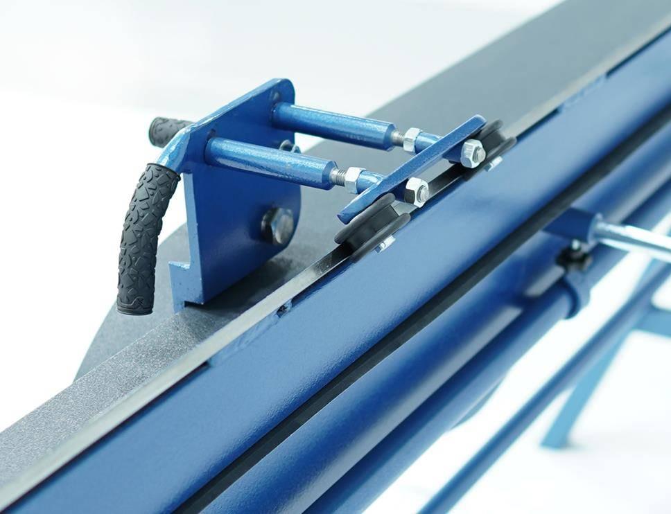 Plegadora manual para aluminio de 2 metros, DOBLADORA para CHAPAS  - Foto 4