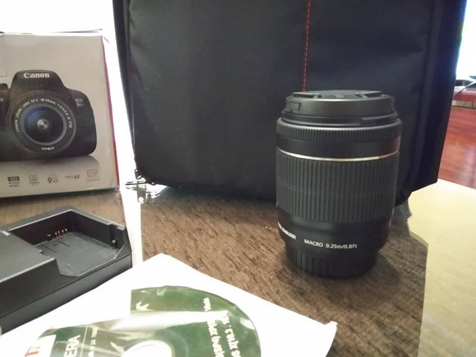 Cámara Canon 700D con 2 días de uso Nueva  - Foto 5
