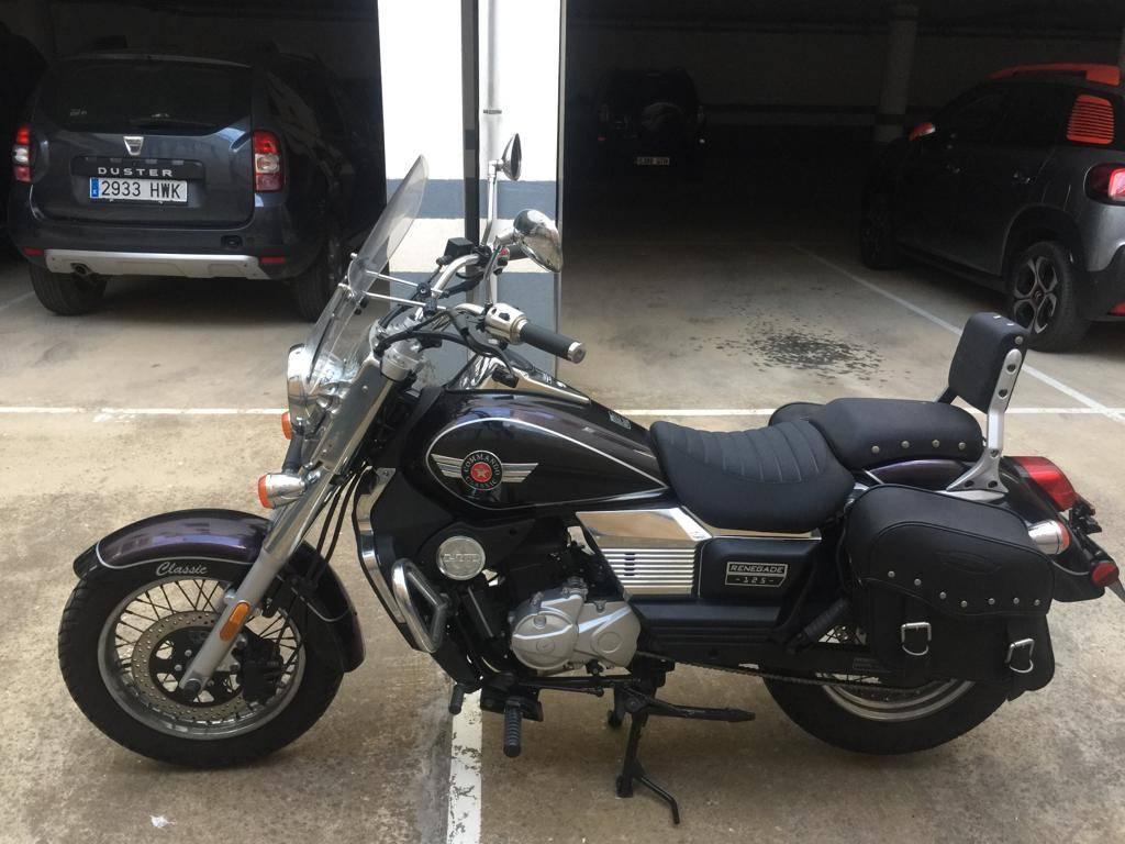 MOTO UM RENEGADE 125 CLASIC  - Foto 3