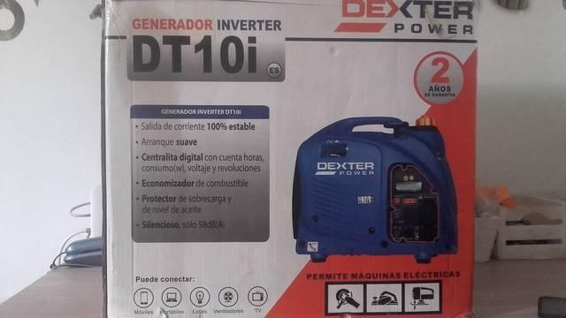 Generador inverter DEXTER DT-10I  - Foto 2