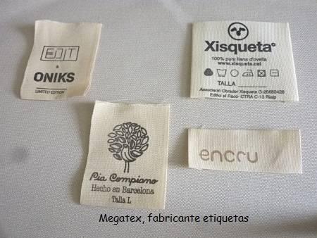 Etiquetas de algodón para ropa delicada  - Foto 2
