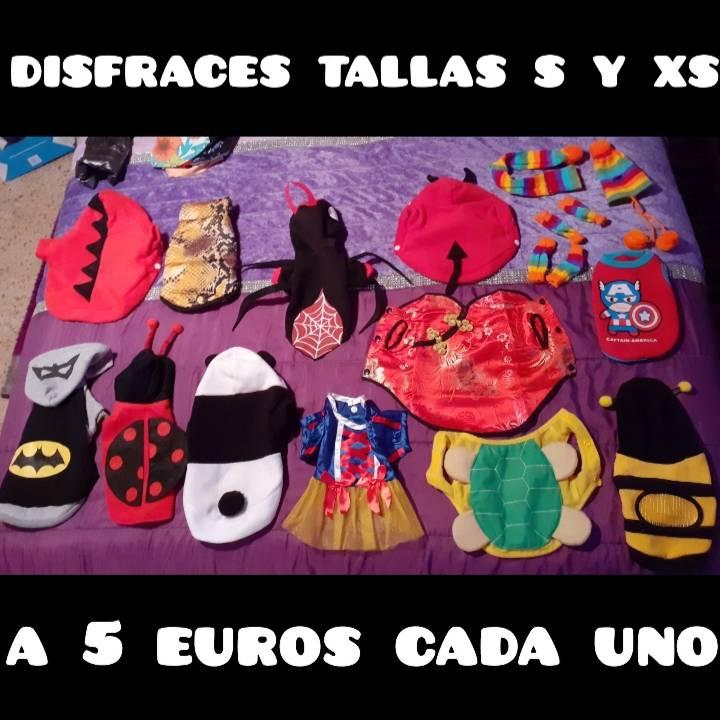 disfraces y ropa para mascota a 2...5 y 8 euros  - Foto 1