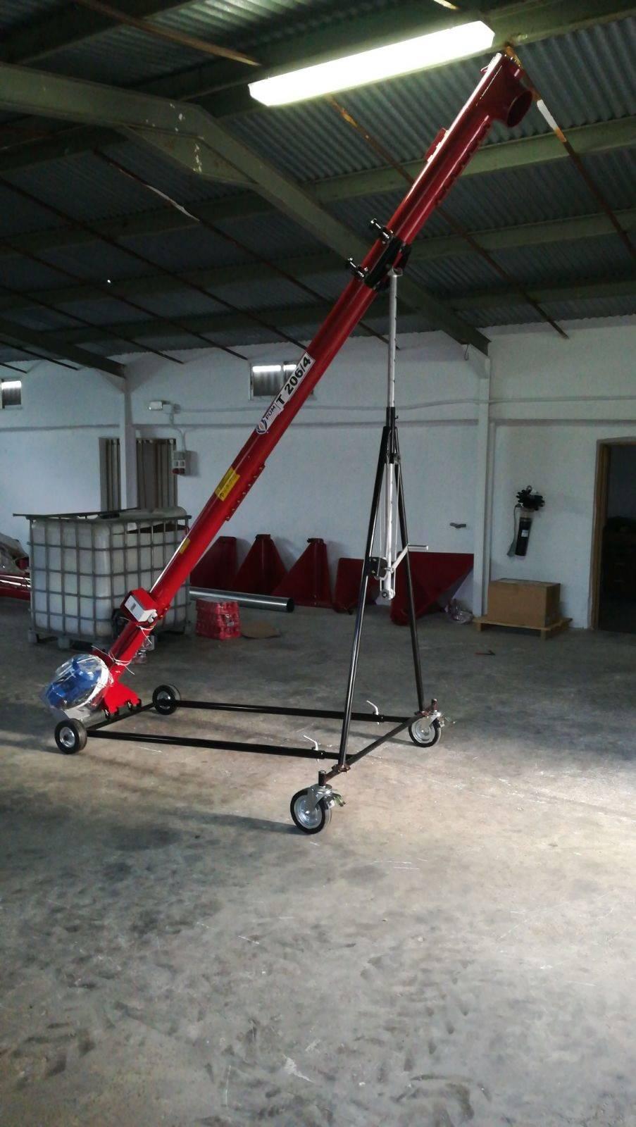 Tornillo Sinfin móvil 8m 24 ton/hora  - Foto 2