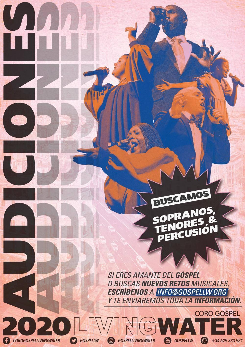 Casting/Audiciones para entrar en el Coro Gospel LW de #Madrid  - Foto 1