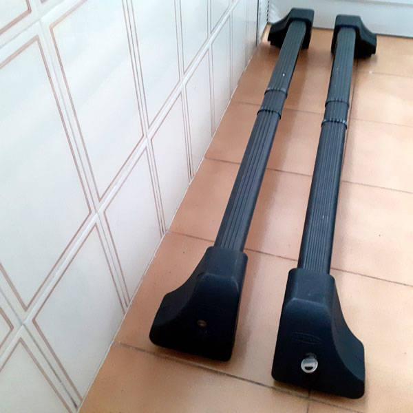 Barras portaequipajes antirrobo de techo con llave  - Foto 1