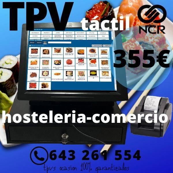 TPV TÁCTIL COMPACTO OCASIÓN + PROGRAMA HOSTELERIA BARES-TETERÍAS-  - Foto 1