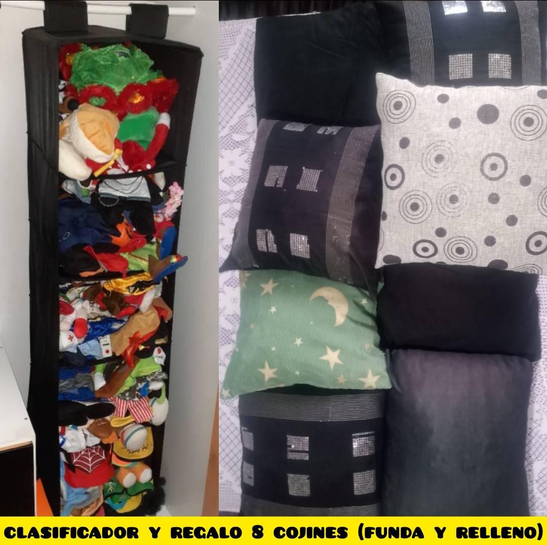 organizador-guardaobjetos-colgador-clasificador y regalo 8 cojines  - Foto 1