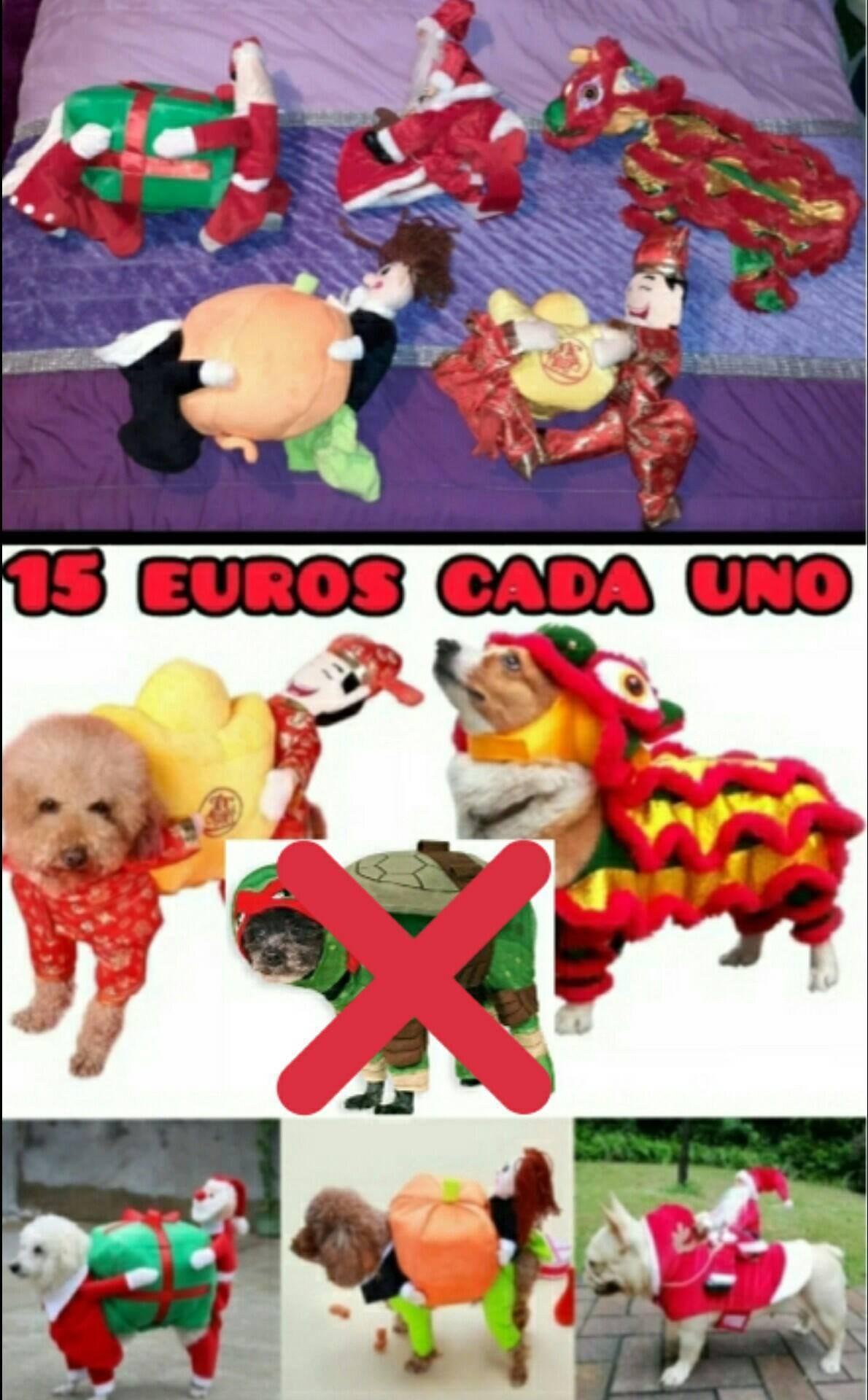ropa y disfraces para mascota desde 2 a 15 euros  - Foto 9