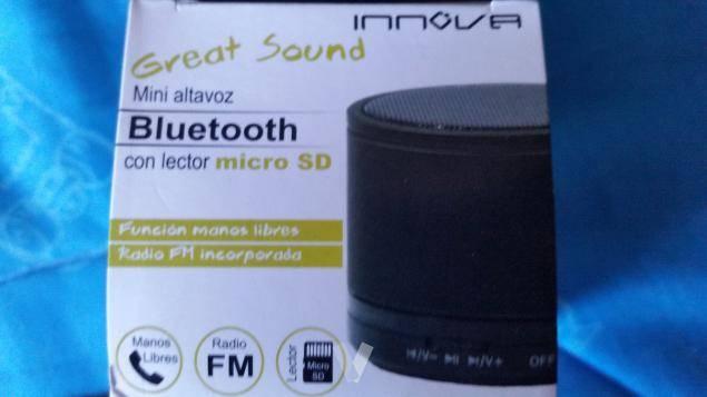 Altavoz Bluetooth  - Foto 1