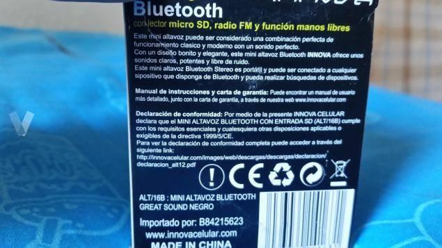 Altavoz Bluetooth  - Foto 7
