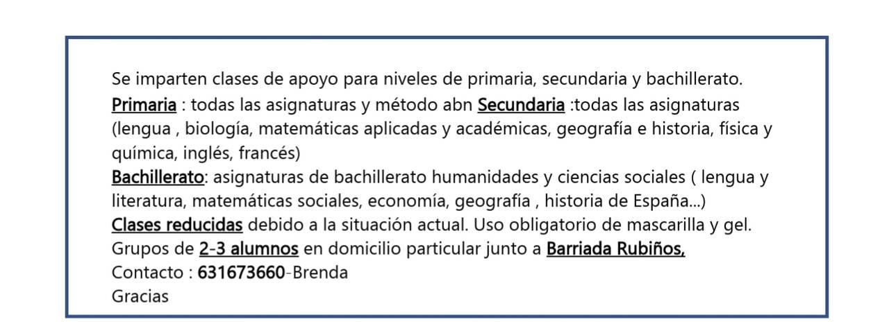 Clases Particulares primaria ,secundaria y Bachillerato  - Foto 2