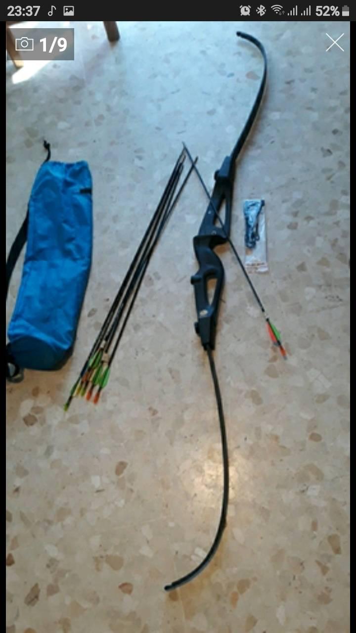 arco y varias flechas  - Foto 1