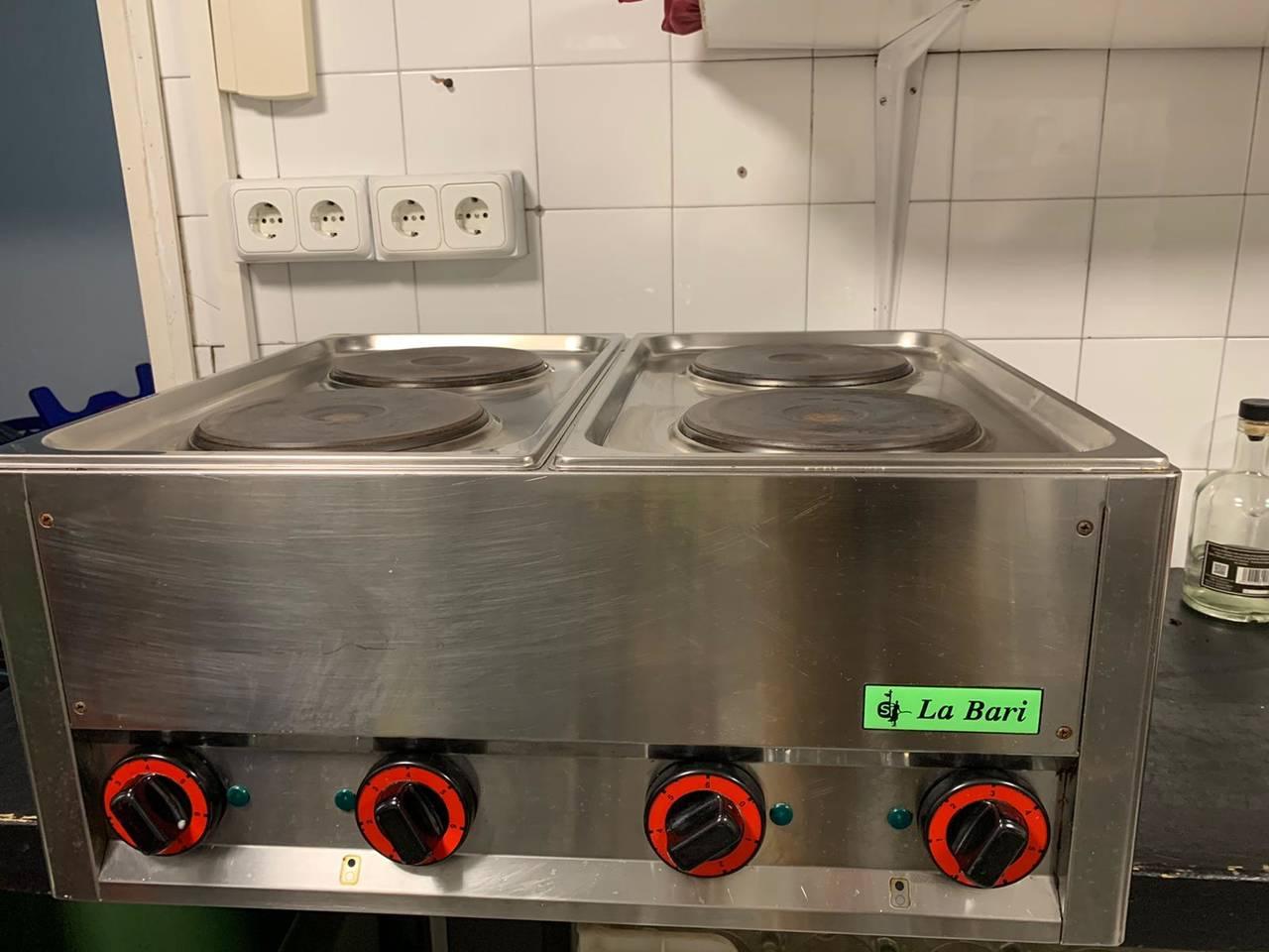 HORNILLO ELECTRICO 4 PLACAS REDONDAS  - Foto 2