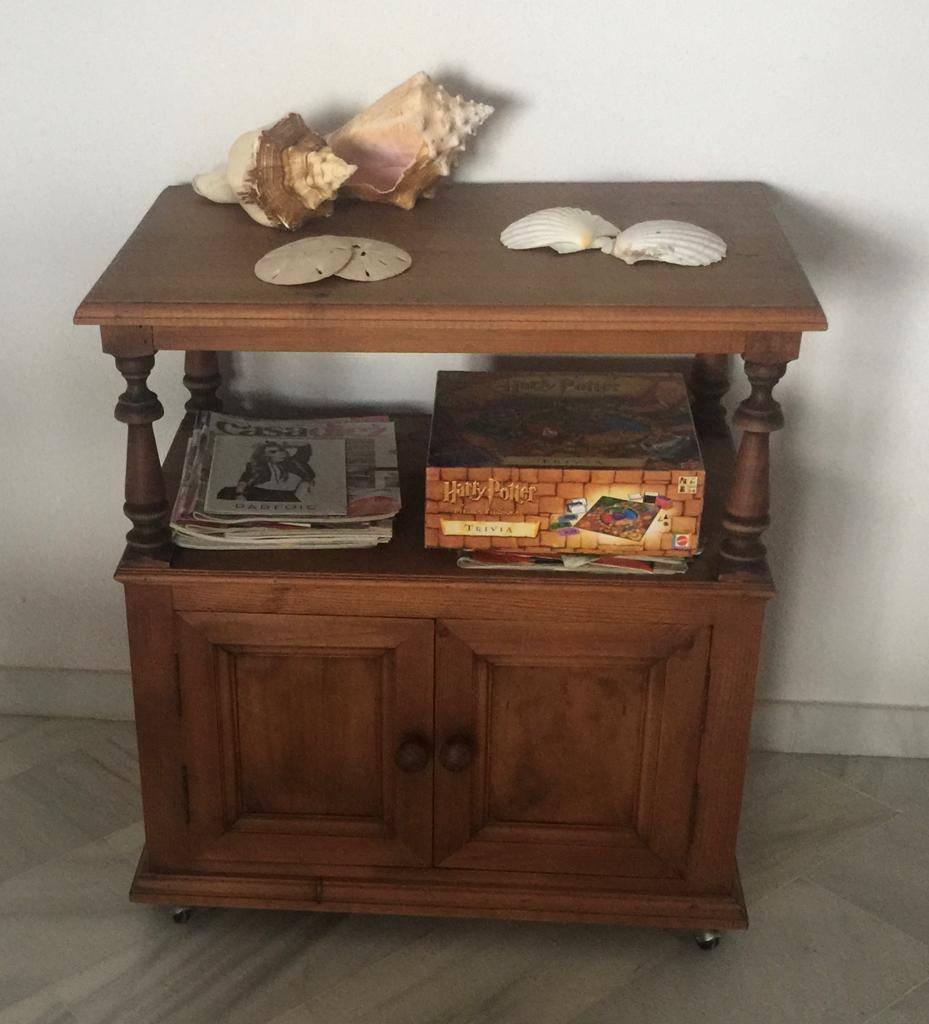 Mueble madera TV  - Foto 1