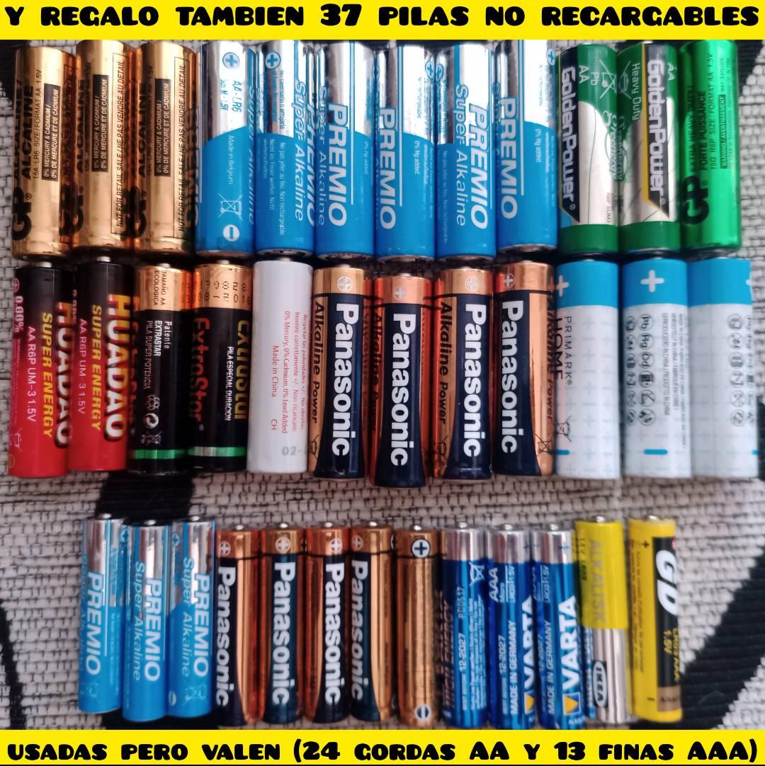 16 pilas finas AAA recargables y regalo el cargador y mas pilas  - Foto 2