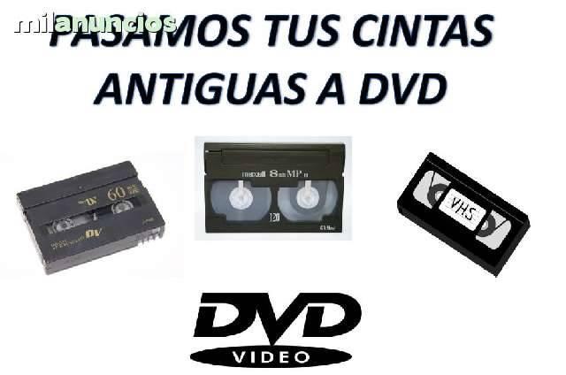 Se pasan cintas VHS,Mini-DV  y de 8mmde cámaras antiguas a DVDS y f...  - Foto 3