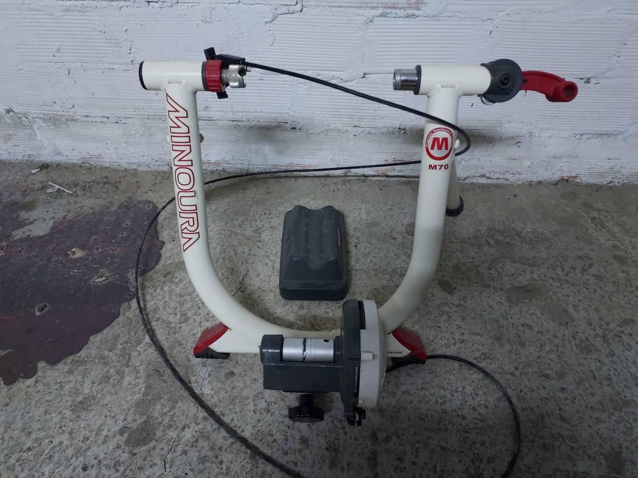 Rodillo de entrenamiento bicicleta.  - Foto 1