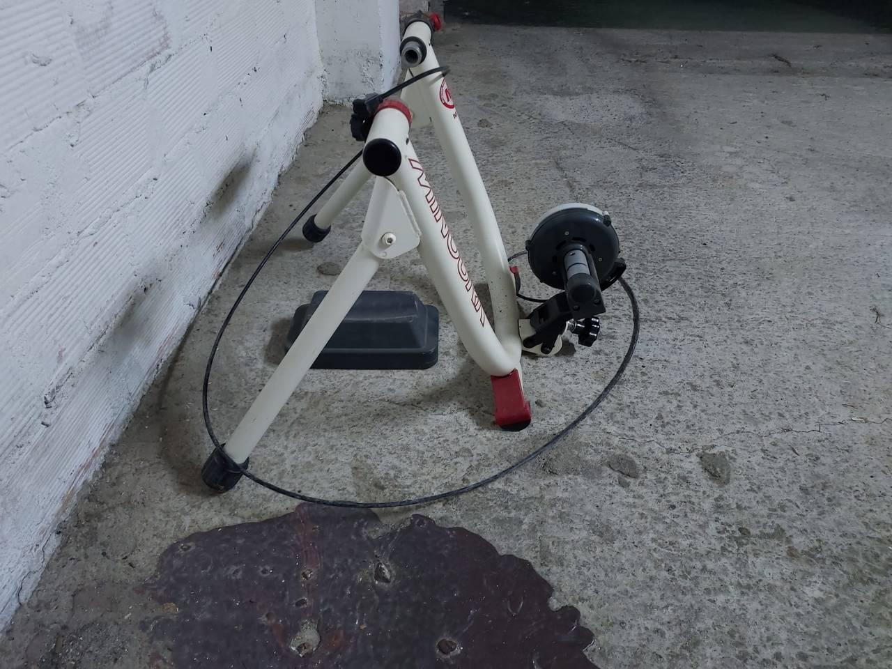 Rodillo de entrenamiento bicicleta.  - Foto 8