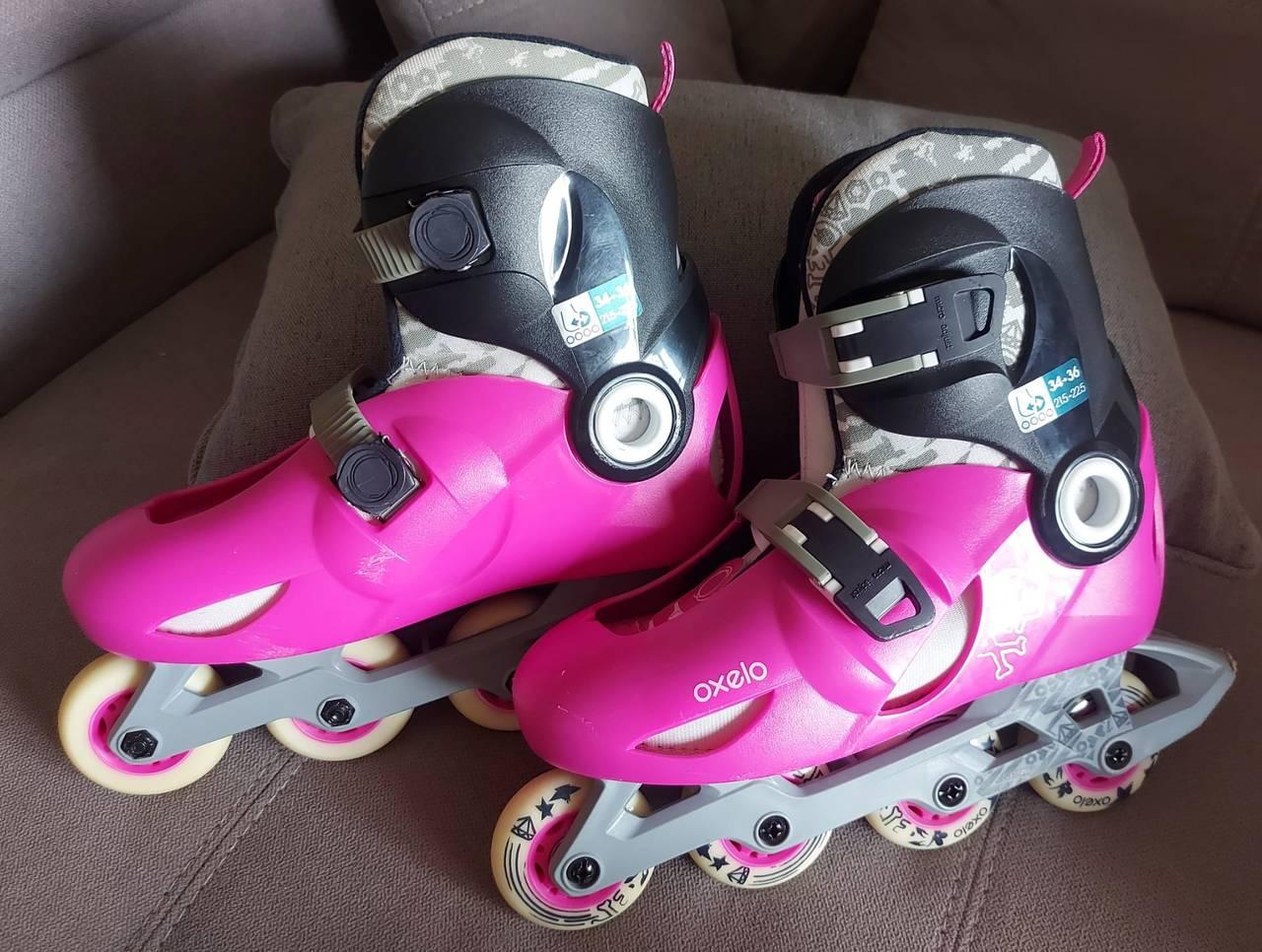 patines en linea marca oxelo talla 34-36  - Foto 6