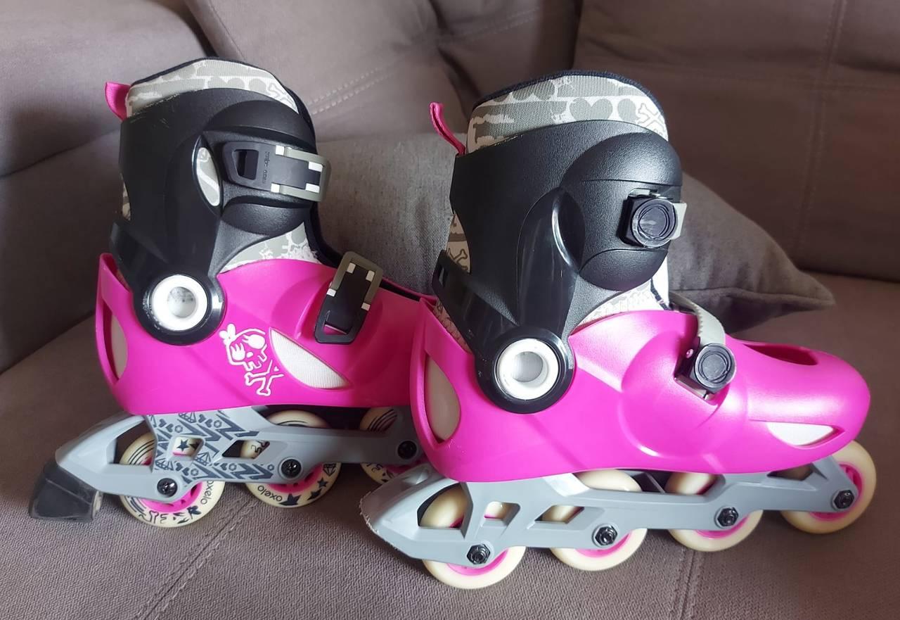 patines en linea marca oxelo talla 34-36  - Foto 4