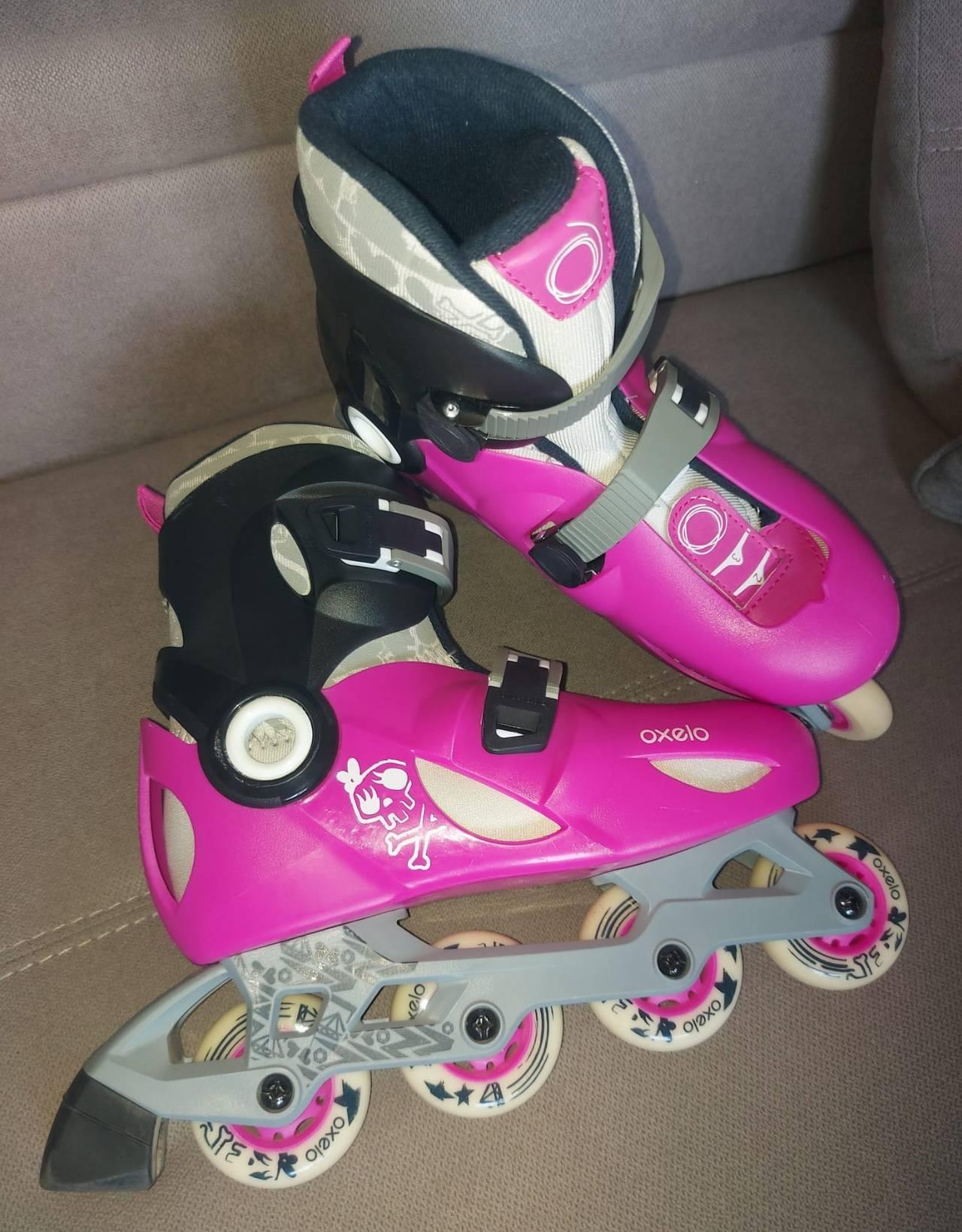 patines en linea marca oxelo talla 34-36  - Foto 3