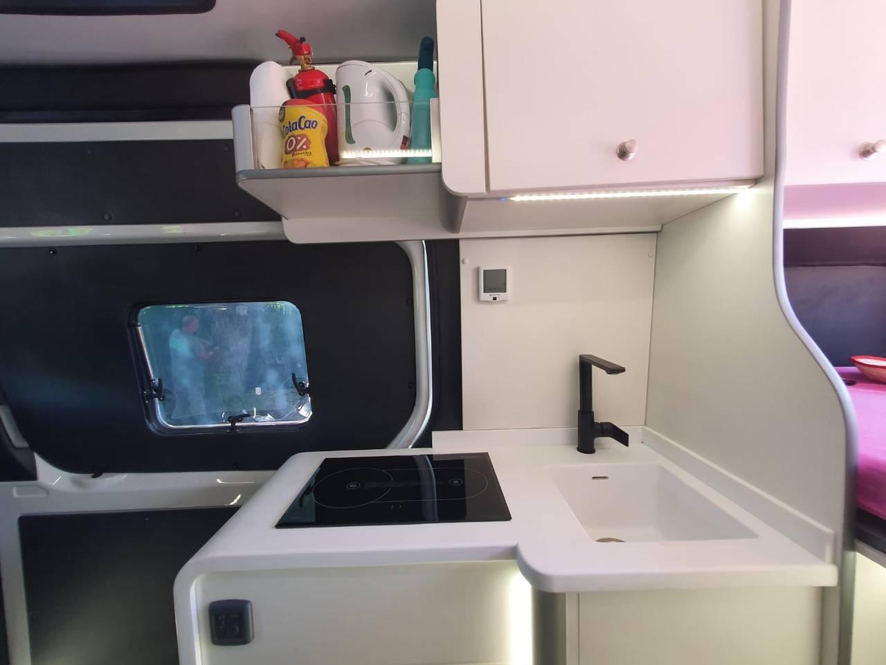 Alquiler furgoneta Camper en Alicante Mercedes  - Foto 7