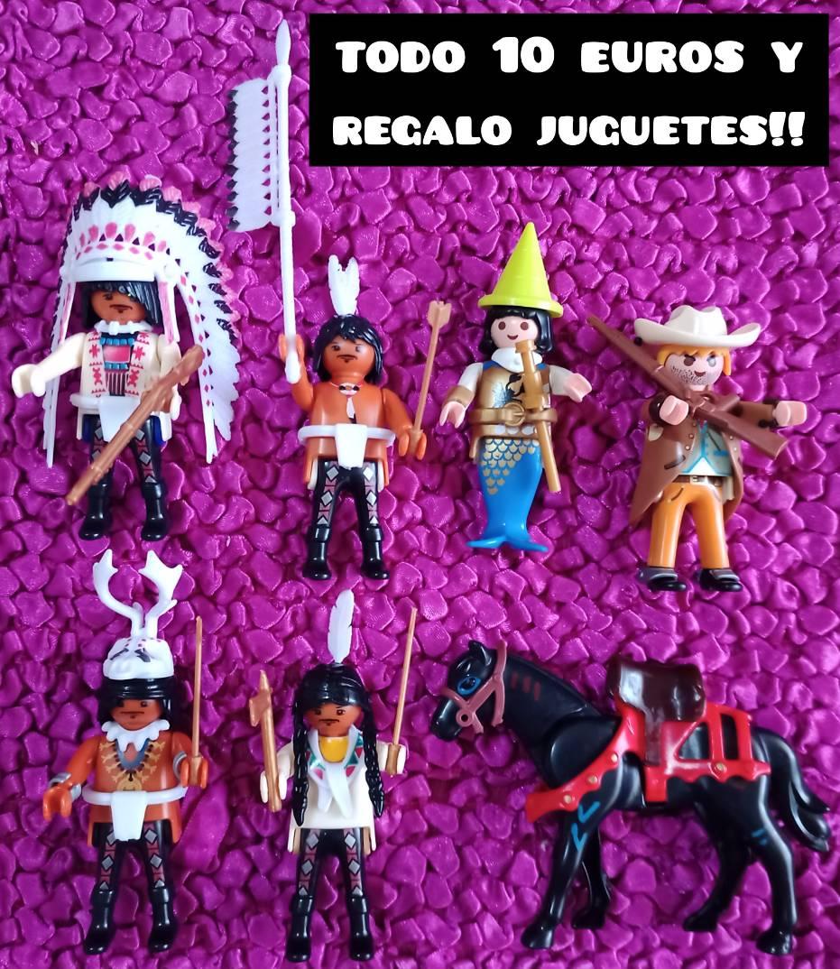 6 clicks de playmobil mas el caballo y regalo juguetes  - Foto 1