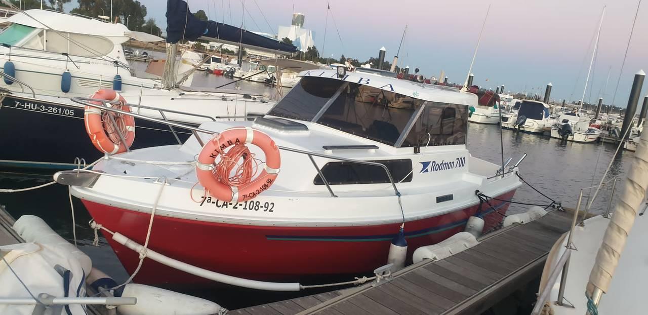 Se vende barco Rodman 700  - Foto 1