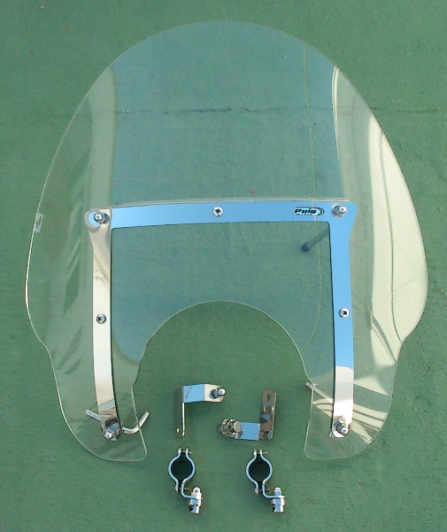 Vendo pantalla parabrisas para moto Puig America II.