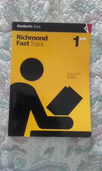 VENDO RICHMOND FAST TRACK 1º ESO STUDENTS BOOK (EDITORIAL