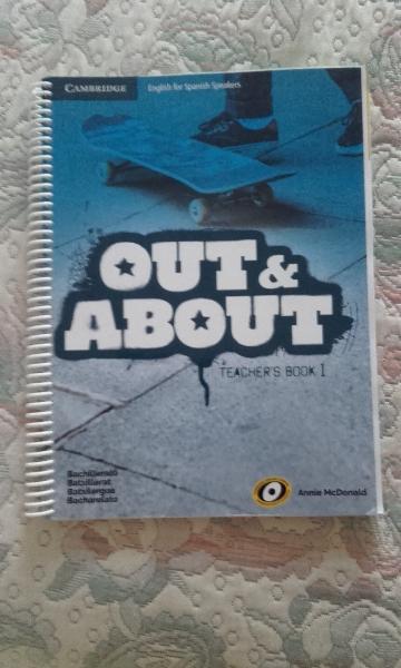 VENDO OUT & ABOUT 1º BACHILLERATO TEACHER BOOK (LIBRO