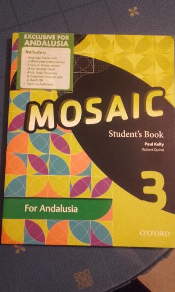 VENDO MOSAIC 3º ESO STUDENT BOOK (LIBRO DEL ALUMNO),
